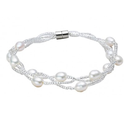 Classic Triple Strands Bracelet (BA-903512)