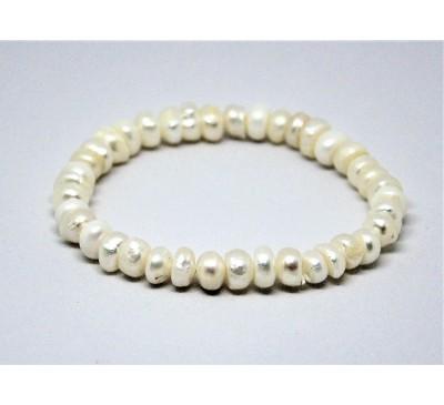 Pearl Stretchable Bracelet (BA-903525)