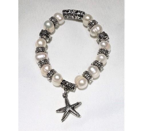 Starfish Charm Bracelet (BA-906022)