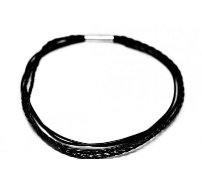 BOHO Multi Strands Necklace / Bracelet - Black (LBN-903044)