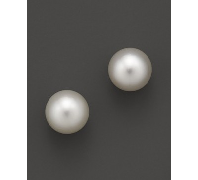 5-6 mm Pearl Sterling Stud Earrings (ER-905084)