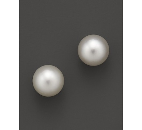 5-6 mm Pearl Sterling Stud Earrings (ER-905084)