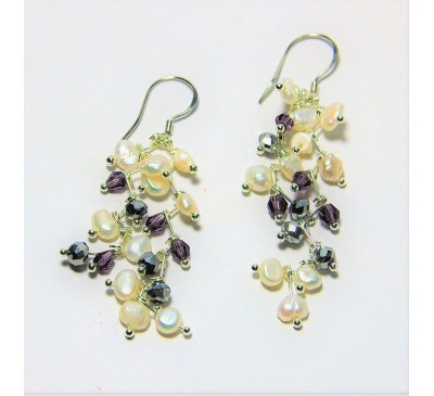 Galaxy Hook Earrings (ERM-903272)
