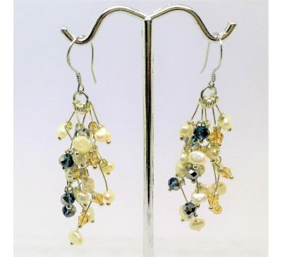 Galaxy Hook Earrings (ERM-903275)
