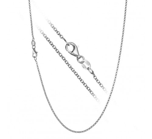 "18"" Sterling Silver Chain (SC-907036)"