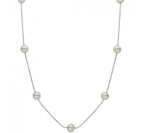 Vienna Station Pearl Necklace (NL-0353-09)
