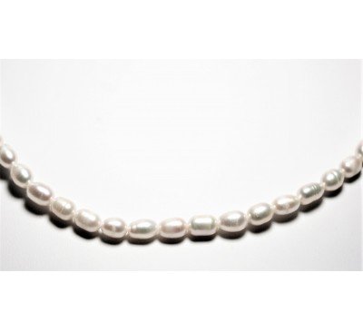 Royal Rice Pearl Necklace (NL-0552-08)