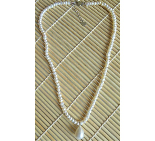 Vintage Seed Pearl Necklace (NL-0950-10)