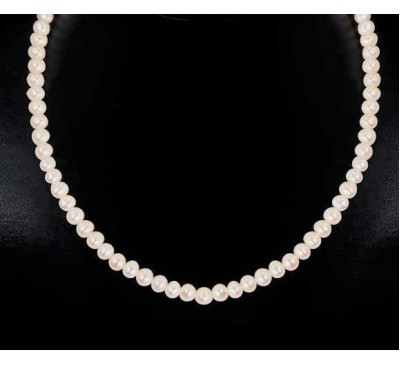 Royal Pearl Necklace (NL-2518-25)