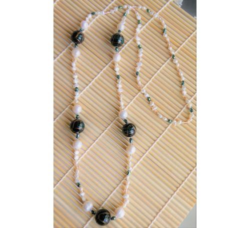 Opera Murano Pearl Necklace (NLM-3013-30)