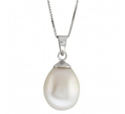 10-12 mm Teardrop Pearl Pendant (P248)