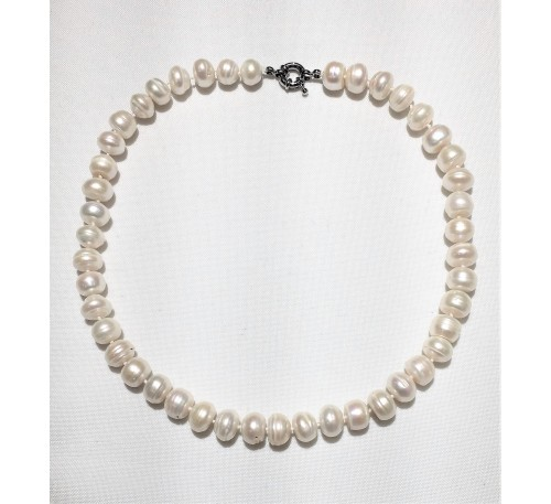 Classic Rondell Pearl Necklace (PN-903535)
