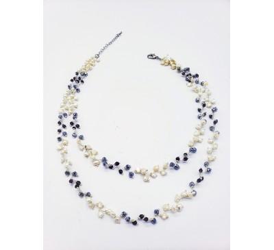 Galaxy Double Strands Necklace (NLM-903270)