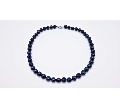 Classic Black Pearl Necklace - PN-800065