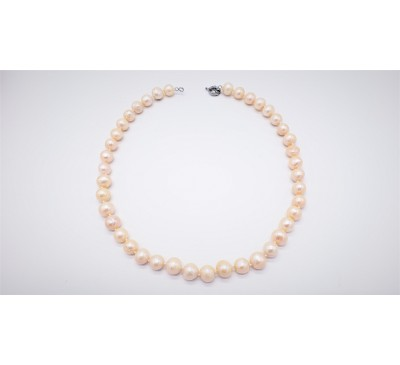 Classic Champagne Pearl Necklace - PN-800067