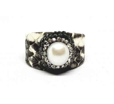 Python Ring - Black & White (LR-805094)