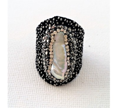 Stingray Pearl Ring (LR-907038)