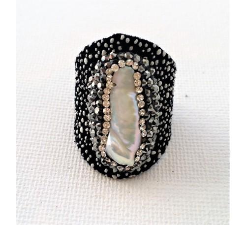Stingray Pearl Ring (LR-907038)