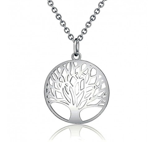 Tree of Life Sterling Silver Necklace  (SN-903253)