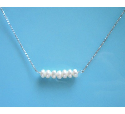 Infiniti Pearl Sterling Necklace (SN-903356)