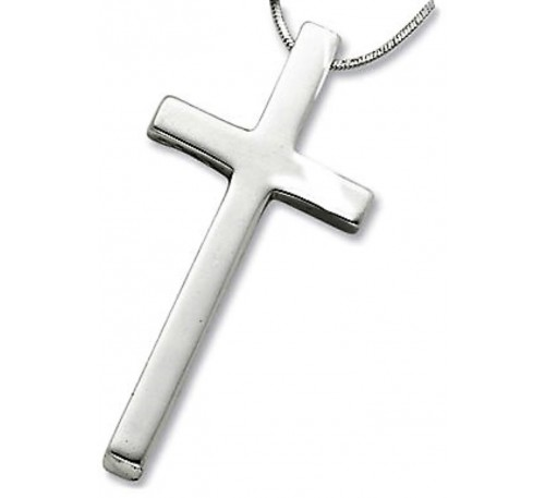 Cross Sterling Silver Necklace (SN-903500)